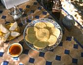 Beghir: Moroccan pancakes