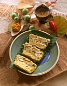 Fish terrine with turmeric from the Antilles
