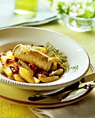 Involtini de pesce spada (swordfish roll, Italy)