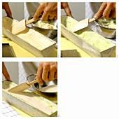 Making cassata alla napoletana