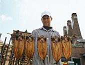 Aal- und Fischräucherei F.Föh in Kappeln, Norddeutschland