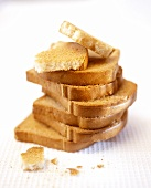 Pile of rusks