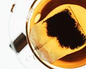 Tea with tea bag