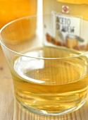 Honey vinegar in jar
