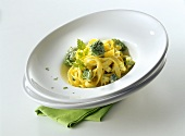 Tagliatelle di Barletta (Ribbon pasta with broccoli & ricotta)