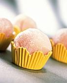 Pink Brazilian sweets: Bicho-de-pe