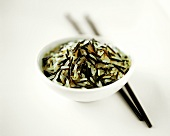 Wild rice and basmati rice in bowl