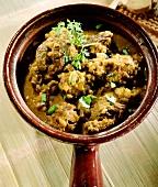 Lammcurry mit Joghurt und Ingwer