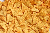 Tortilla chips (filling the picture)
