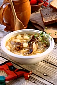 Kwasnica (hearty sauerkraut soup, Poland)