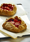 Cherry tomato tarts