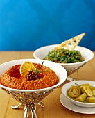 Muhammara (Walnut and chili dip, Lebanon)