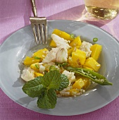Sardina (fish and mango salad, India)