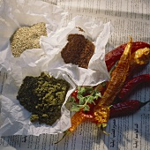 Middle Eastern spice mixtures