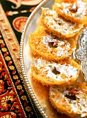 Kyor ghewar (crispy pancakes, India)