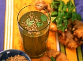 Jaljeera (spicy drink with cumin), Gujarat, India
