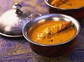 Konkani machchi amti (pomfret curry), Maharashtra, India