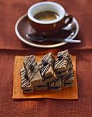 Espresso biscuits