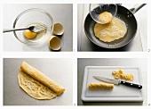 Making pancake strips
