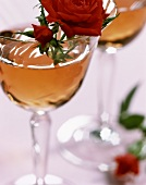 Rose: cocktail of kirsch, vermouth and rose syrup