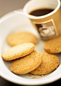 Heidesand biscuits to serve with coffee