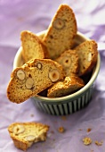 Cantuccini con le noci (hazelnut biscuits), Tuscany, Italy