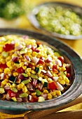 Succotash (native American maize and bean dish)