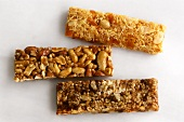 Nut and apricot bar, nut bar, walnut and date bar