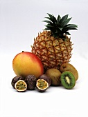 Assorted exotic Fruits