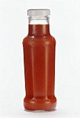 A bottle of ketchup