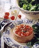 Tomato bavarois (Bavarois de tomates)