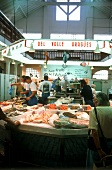 Fish market in Biarritz; France