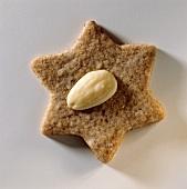 An almond star