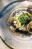 Cuttlefish and potato salad