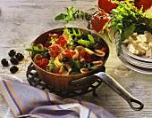Orecchiette con la rucola (Pasta with rocket, Italy)