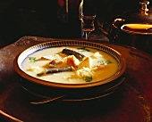 Dutch fish soup (Waterzooi)