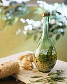 Fagioli al fiasco (In der Flasche geschmorte Bohnen)