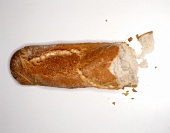 A broken baguette