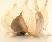 A Single Clove of Garlic with Peel