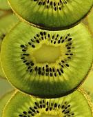 Slices of Kiwi Close Up