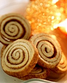 Sweet pastry cinnamon coils