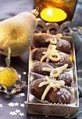 Baci d'amore (Chocolate macaroons)