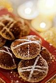 Hazelnut mocha macaroons