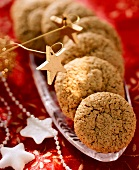 Nut macaroons for Christmas