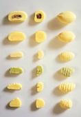 Various gnocchi