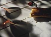 A piece of baguette