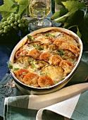 Parmigiana di melanzane (Aubergine and tomato bake)