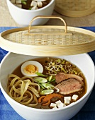 Bouillon Nippon (with duck breast, boiled egg and noodles)
