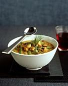 Bean curry with pork