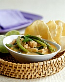 Indian chicken ragout with green beans